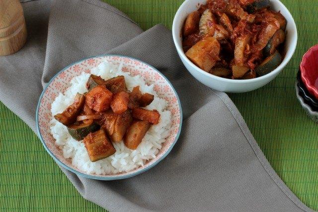 Il curry di verdure indiano