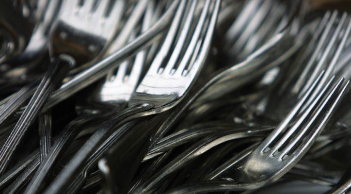Quali forchette usare per ogni portata, dall'antipasto al dolce