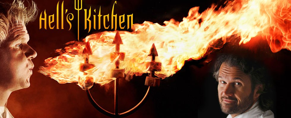 Carlo Cracco a Hell's Kitchen Italia: Cattivissimo me