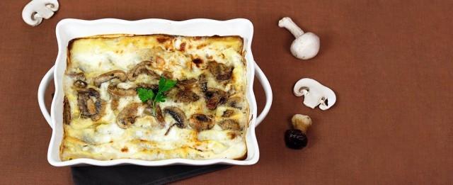 Le lasagne ai funghi