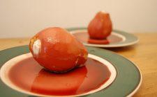 Le pere al barolo con mascarpone, la ricetta del dolce goloso