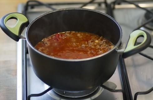 La salsa per il moussaka