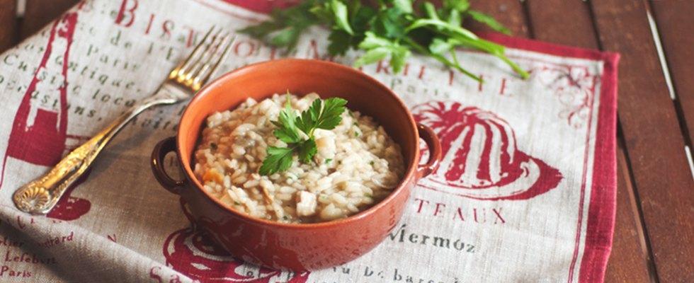 Cucina con noi risotto ai funghi