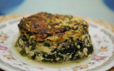 Lo sformato di spinaci con ricotta per un secondo vegetariano