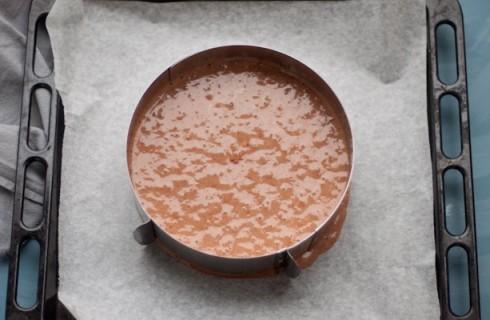 Il pan di Spagna al cacao