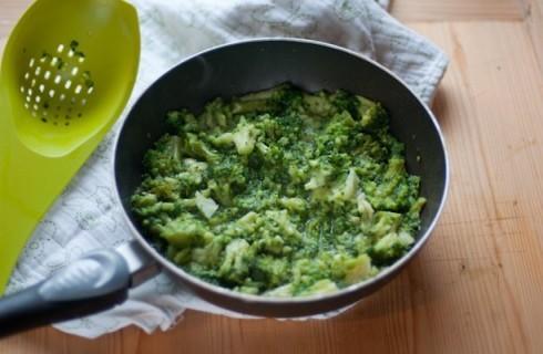 Il broccolo in padella