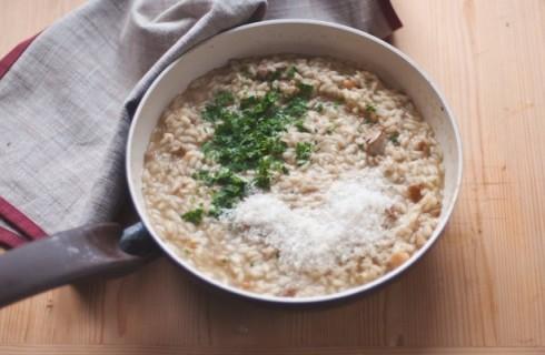 La mantecatura del risotto