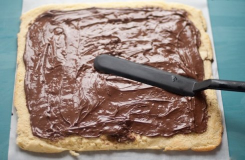 Il confezionamento del rotolo di Nutella