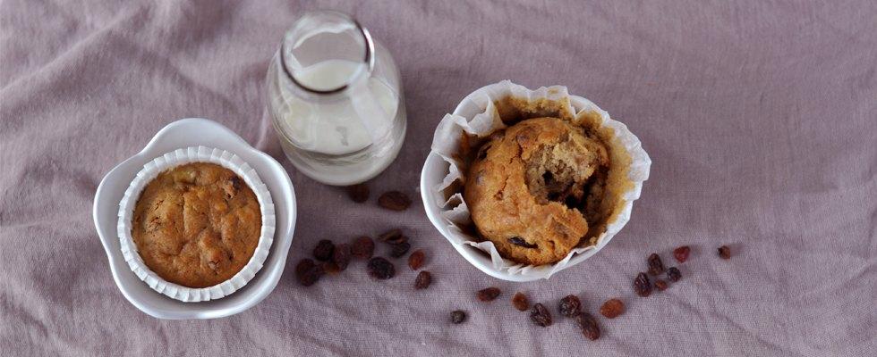 Muffin alla banana senza burro