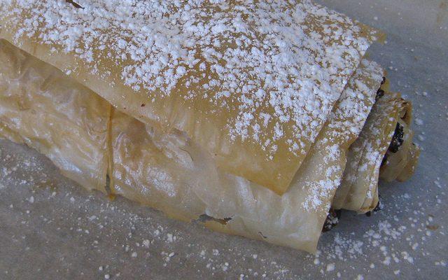Lo strudel col Bimby, la ricetta con pere e cioccolato