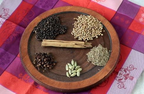 Le spezie del garam masala