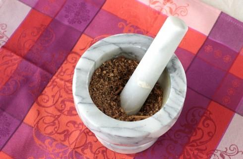 La preparazione garam masala