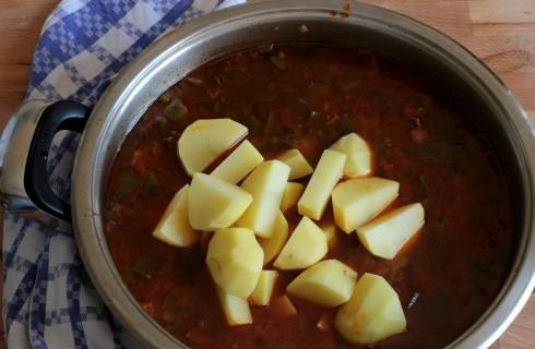 La cottura del gulash