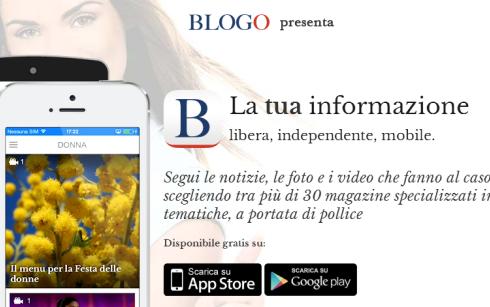 Blogo App, le ricette di Gustoblog e le news del network in versione mobile