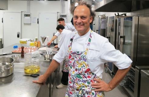 Come cucinare la spigola secondo Moreno Cedroni