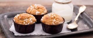 Muffin allo yogurt: dolci e leggeri
