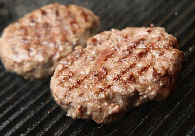 Griglia Hamburger