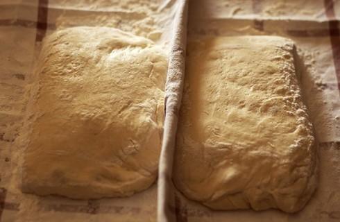 Le pagnotte del pane rustico