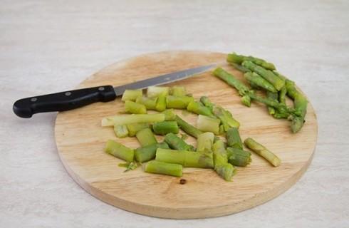 gli asparagi per il risotto agli asparagi