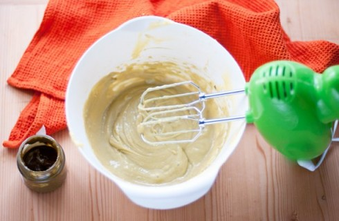 La crema per la torta al pistacchio