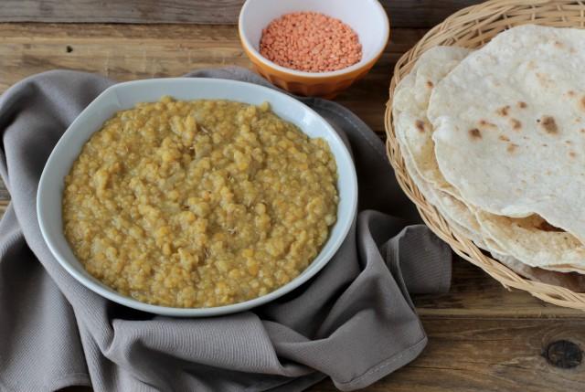 La zuppa di lenticchie indiana
