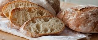 Pane rustico fatto in casa