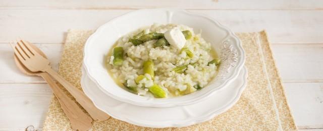 Il risotto agli asparagi