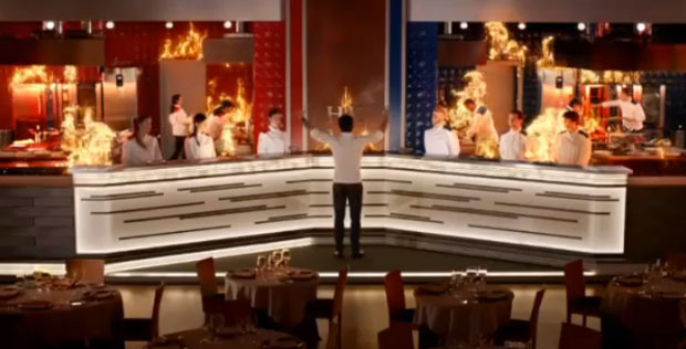 Hell's kitchen Italia promo