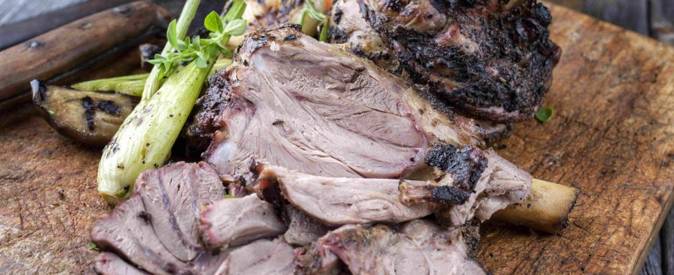 Cosciotto di agnello arrosto: per la Pasqua