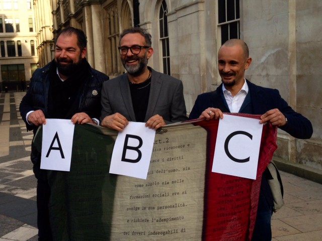 Raffaele Alajmo, Massimo Bottura, Enrico Crippa