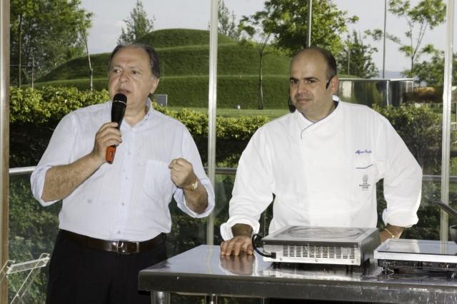 Enzo Vizzari ed Alfonso Caputo