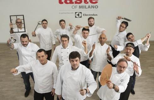 Tutti gli chef di Taste of Milano 2014