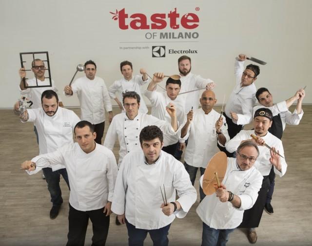 Foto gruppo chefs Taste