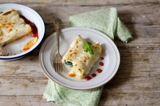 Cannelloni ricotta e spinaci fatti in casa