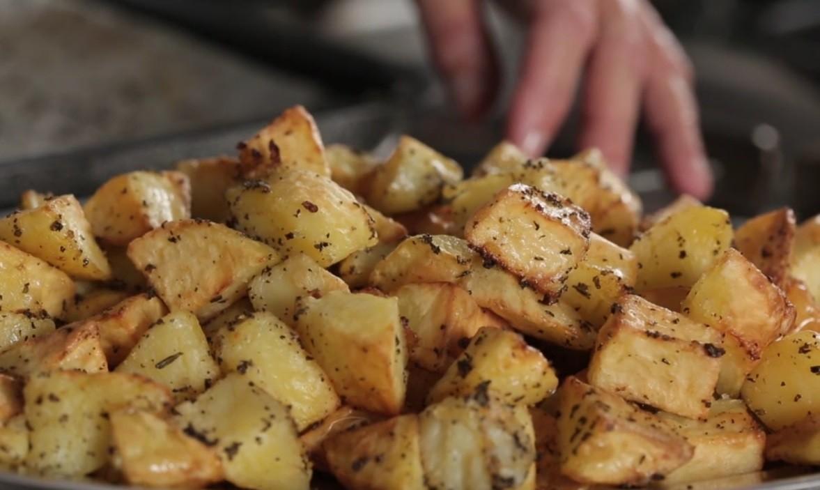 patate al forno croccanti e saporite agrodolce