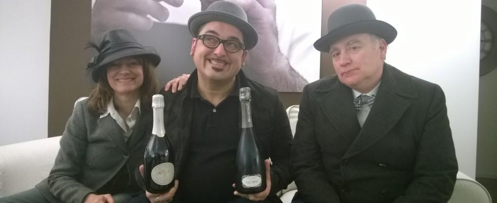 Umberto Cosmo e Cinzia Canzian: galeotto fu il prosecco