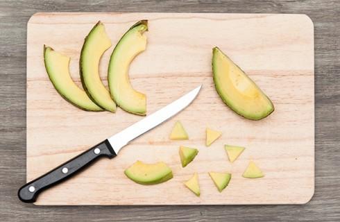 L'avocado per il chirashi