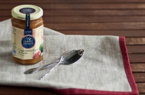Confettura extra di fichi di Puglia Terre D'Italia: la degustazione