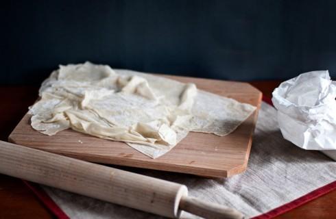 Pasta fillo sottilissima: ricetta