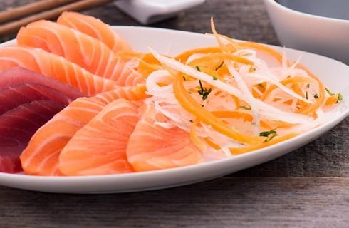 A lezione di sashimi