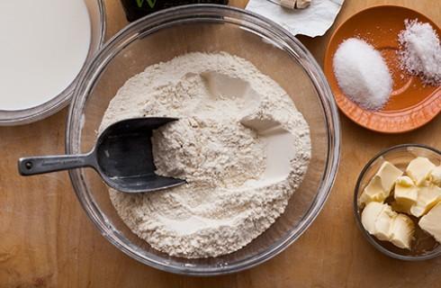 Le farine del pane in cassetta