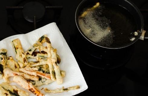 La frittura del tempura
