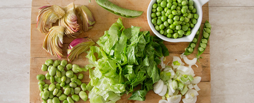 Menu di Aprile: frutta e verdura di stagione, Pasqua e pasquetta