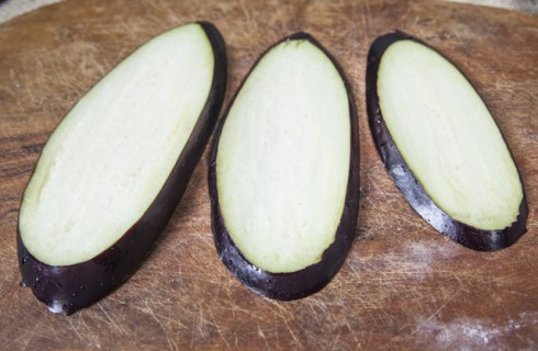 Le melanzane affettate