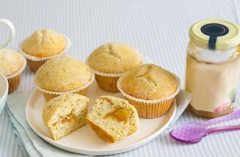 Muffin con confettura di fichi
