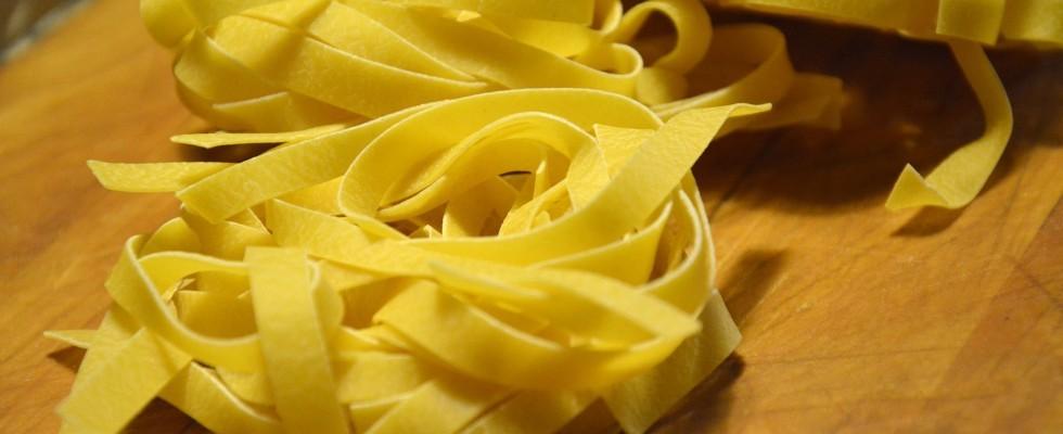 Tagliatelle dell'Emilia Terre D'Italia: la degustazione