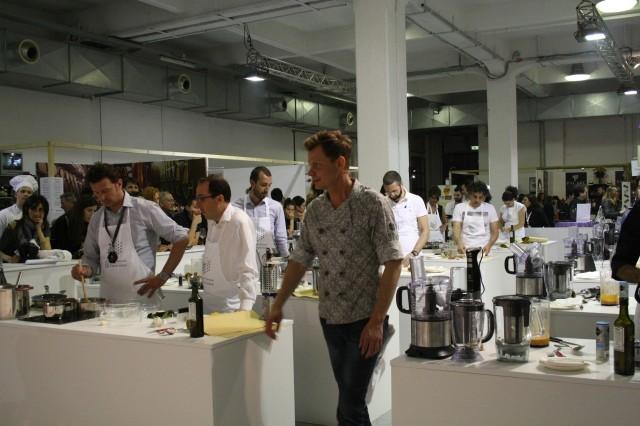 Andrea a Taste of Milano 2014