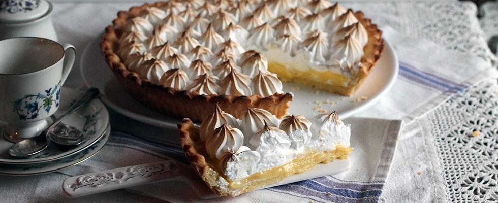 La ricetta illustrata della crostata meringata al limone - Foto 10