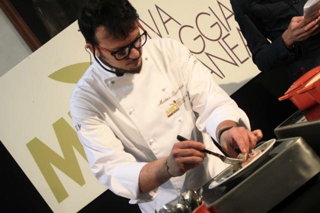Lo chef Matteo Badaracco