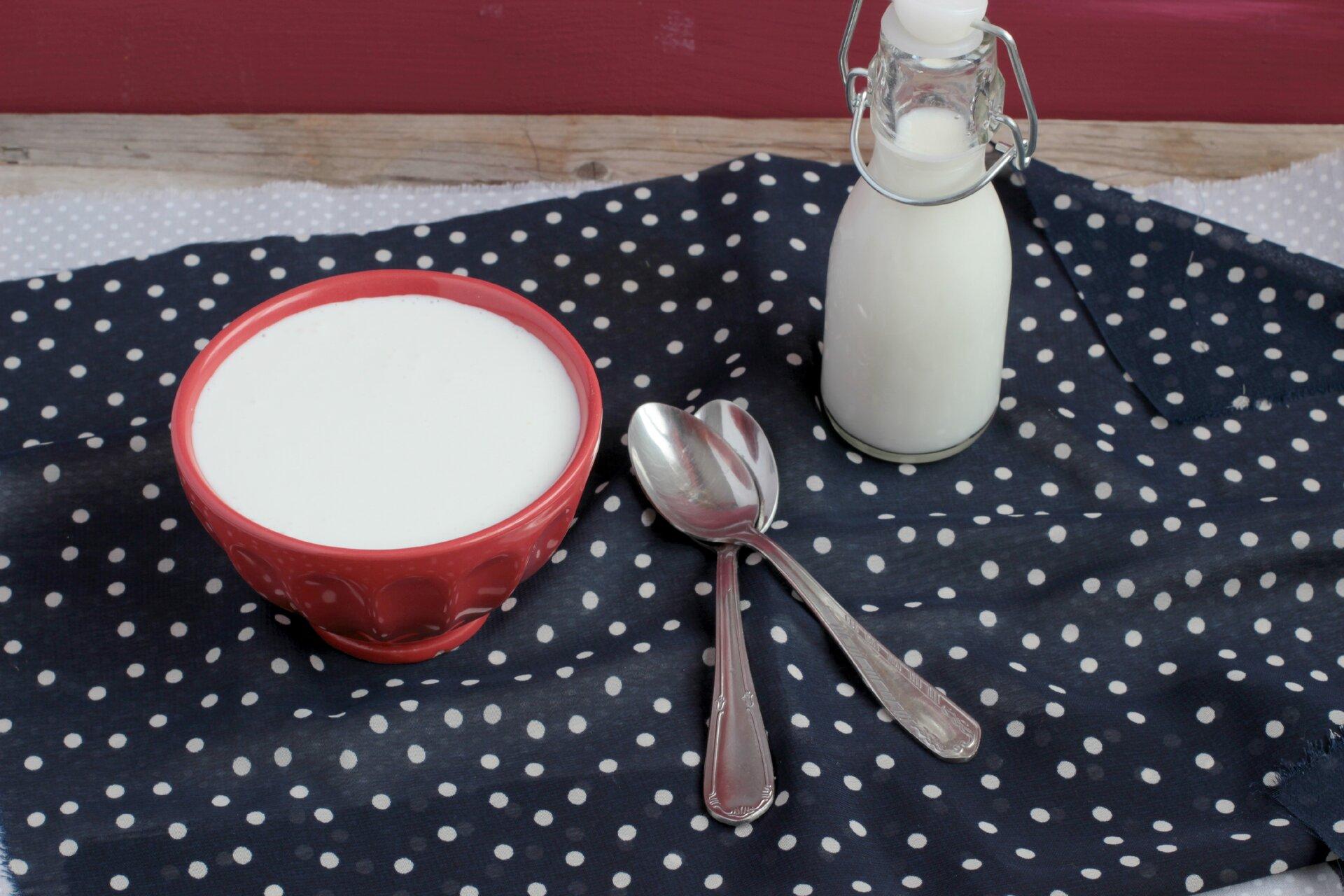 Panna da cucina fatta in casa preparazione agrodolce - Panna da cucina ...